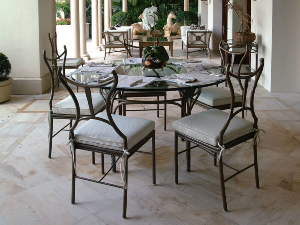 filter_Bronze Dining Table & Chairs