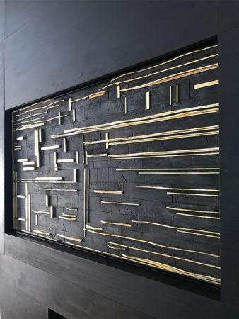 filter_Fireplace Mantel Metal Art Piece