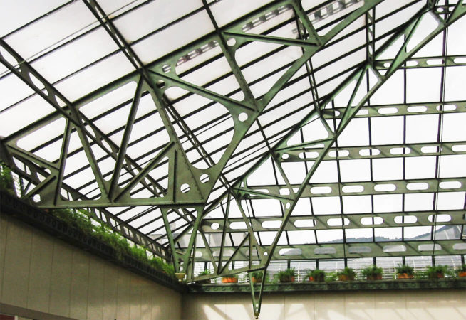 filter_Metal and Glass Roof