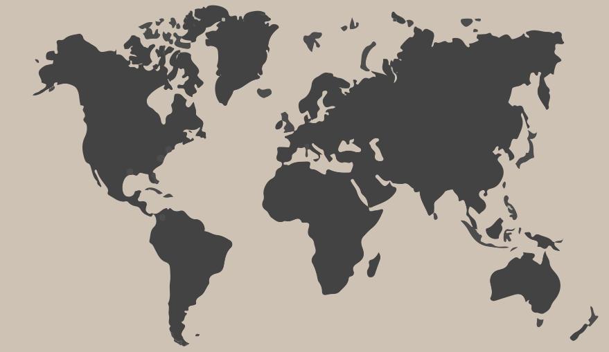 World Map - Belt Atelier