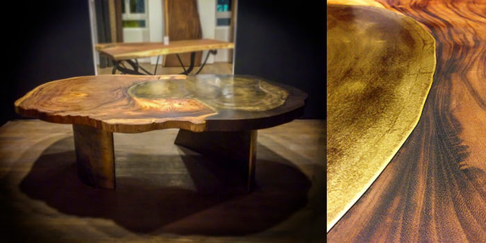 filter_Metal & Wood Casted Table