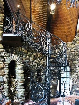 filter_Metal interior Spiral Stair
