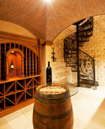 filter_Winecellar Spiral Stair