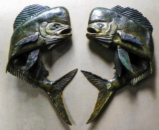 filter_Bronze Mahi-Mahi Sculpted Door Handles
